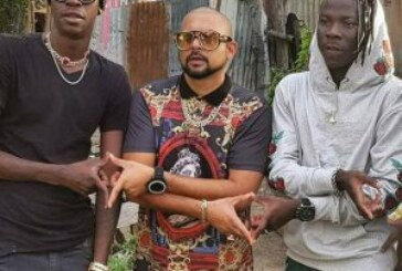 Stonebwoy Shoots New Video With Sean Paul & Chi Ching Ching