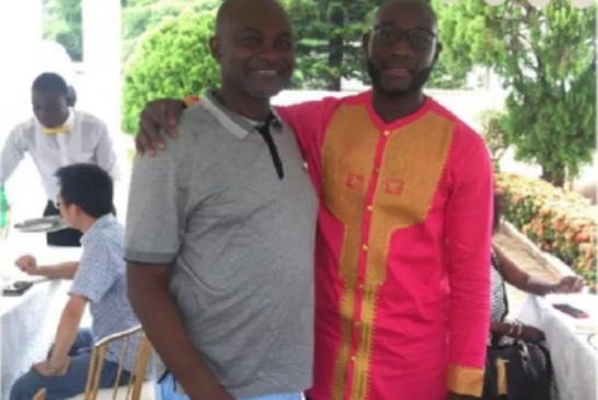 Kennedy Agyapong and son lock horns in cooking competition
