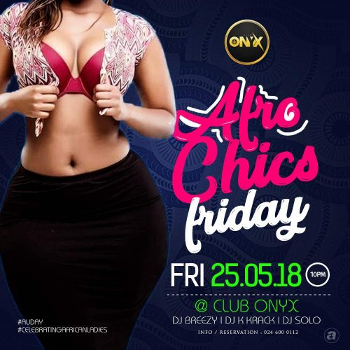 Afro Chics Friday At Club Onyx Comes Off On AU Day