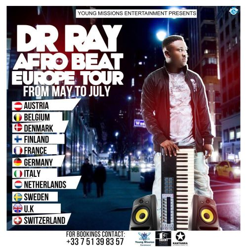 Dr Ray begins 'Afro Beat Europe tour'