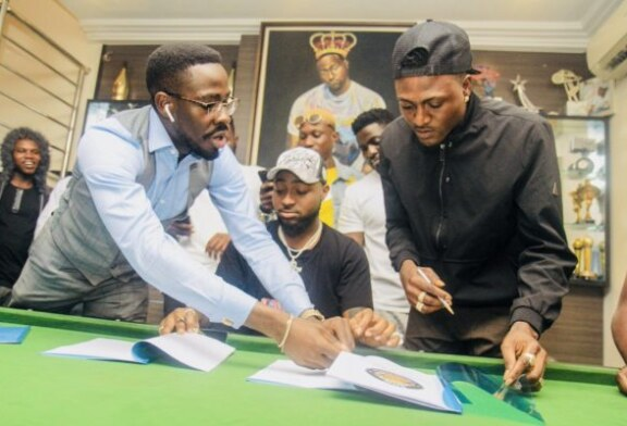 Davido Signs Idowest To DMW Records